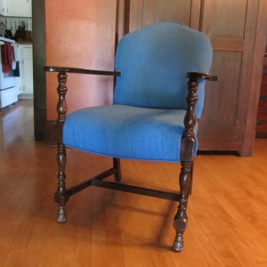 This is the third life for this chair, and it seems very happy