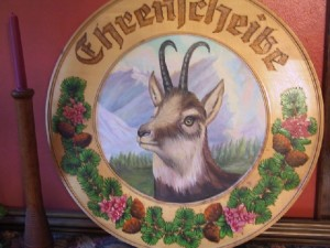 Chamois Plaque