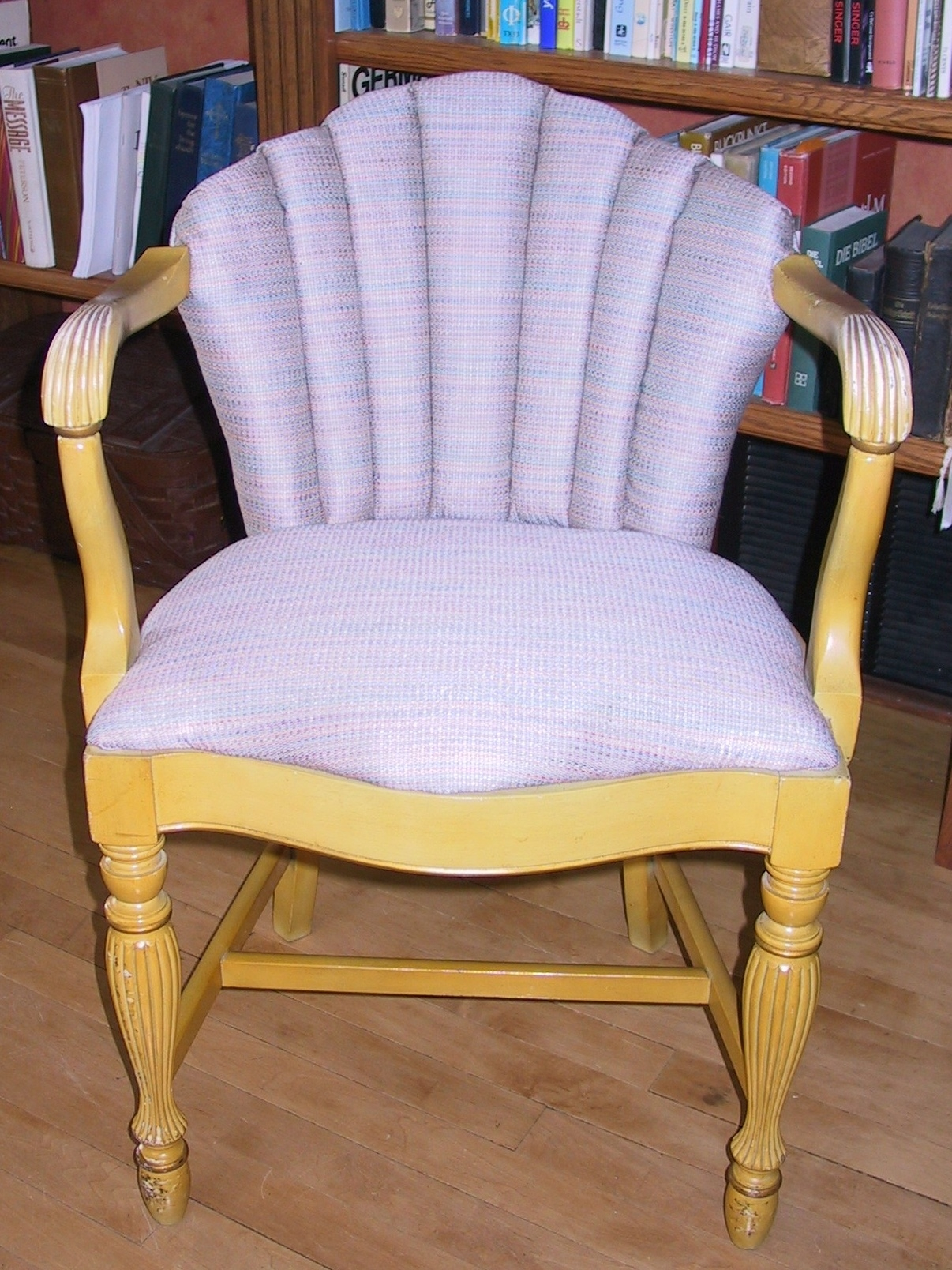"A fresh new look to a ""just right"" sized little chair"